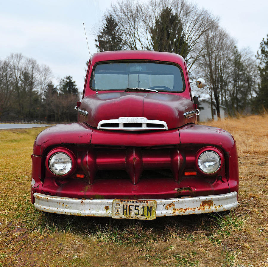 Old Ford Truck Photograph by Brian Mollenkopf