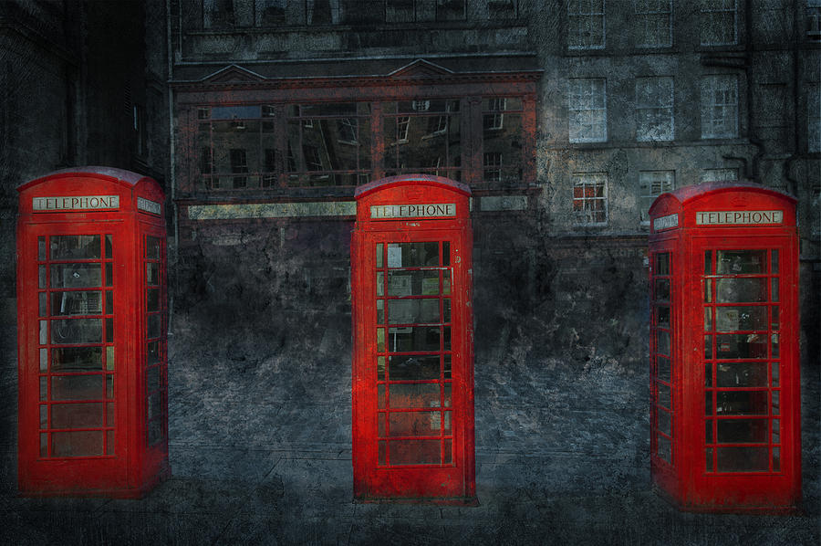 Architecture Digital Art - Old Friends by Svetlana Sewell