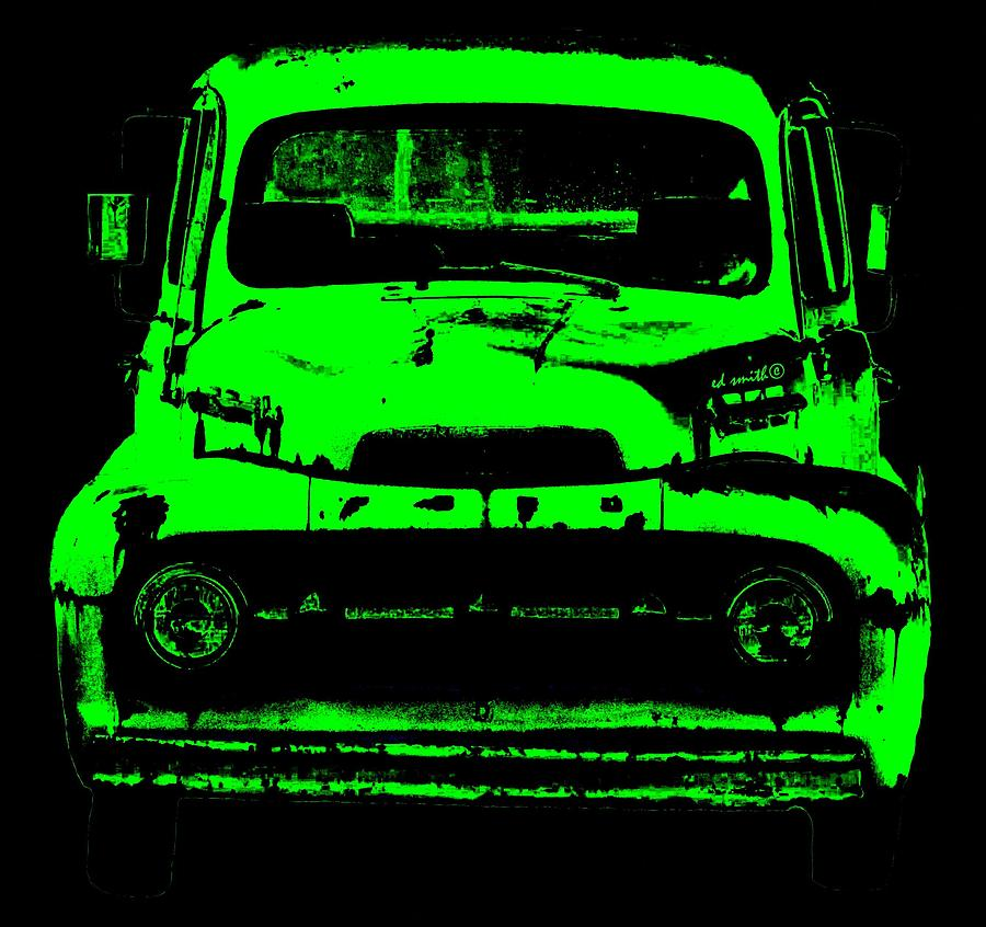 Truck Photograph - Old Ghost by Ed Smith