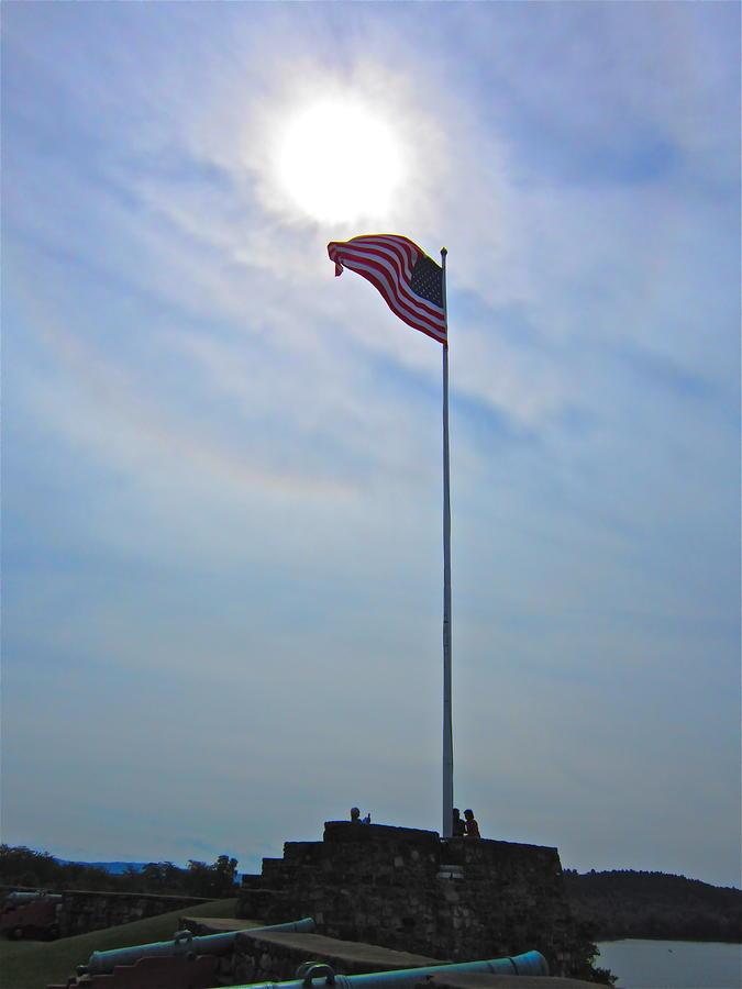 Usa Flag Photograph - Old Glory by Marita McVeigh