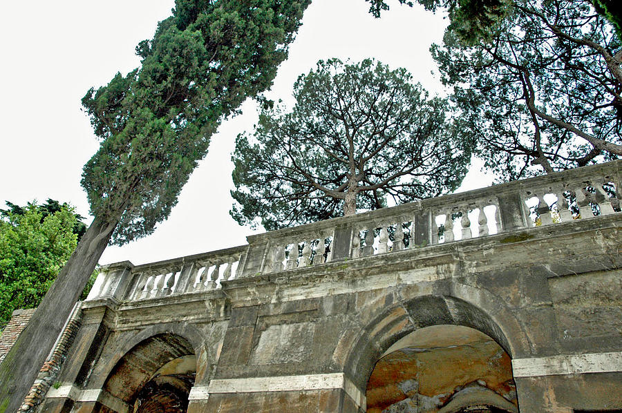 Rome Photograph - Old Heights by Jenna Cornell
