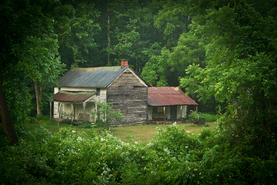 Old Photograph - Old Home Place by Douglas Barnett