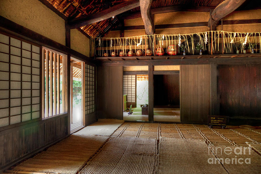 Old House\'s Living Room Photograph by Tad Kanazaki