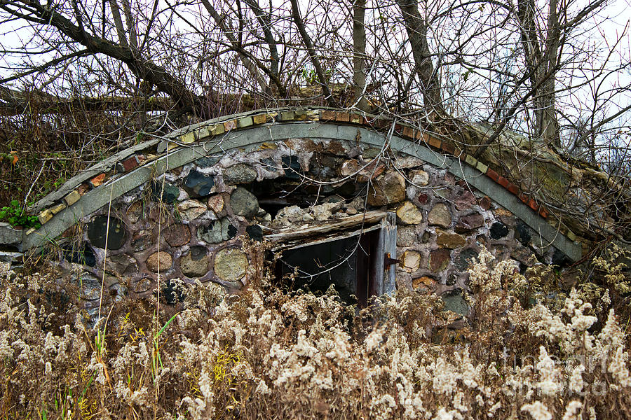 Architecture Photograph - Old Ice House by Ms Judi