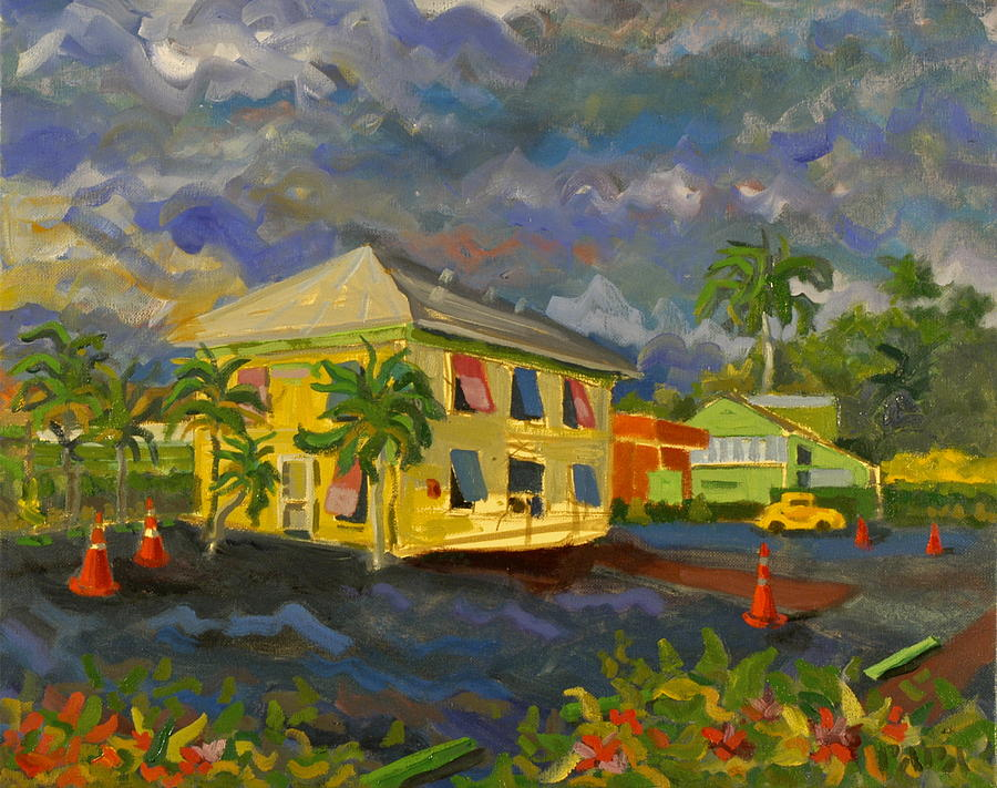 Hypoluxo Painting - Old Key Lime House by Ralph Papa