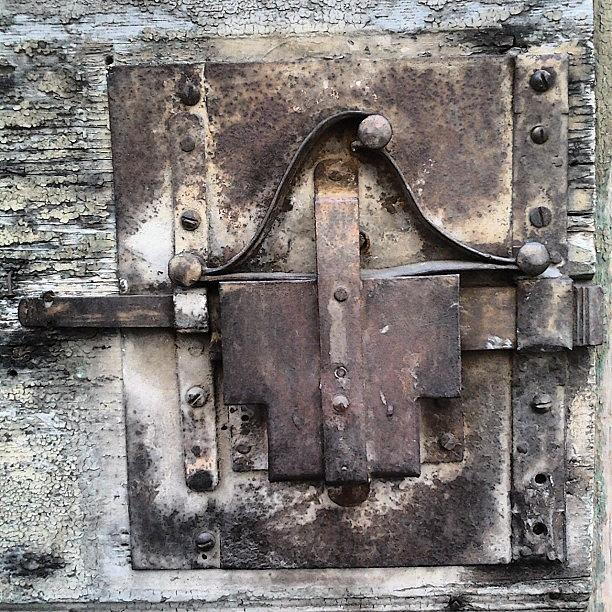 Lock Photograph - Old lock by Nic Squirrell