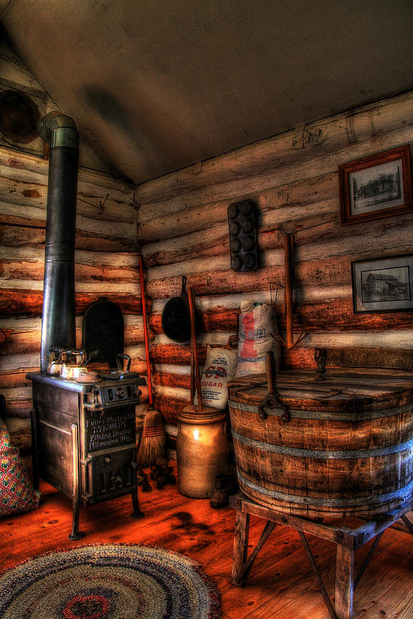 Old Log Cabin Photograph By Joel Witmeyer