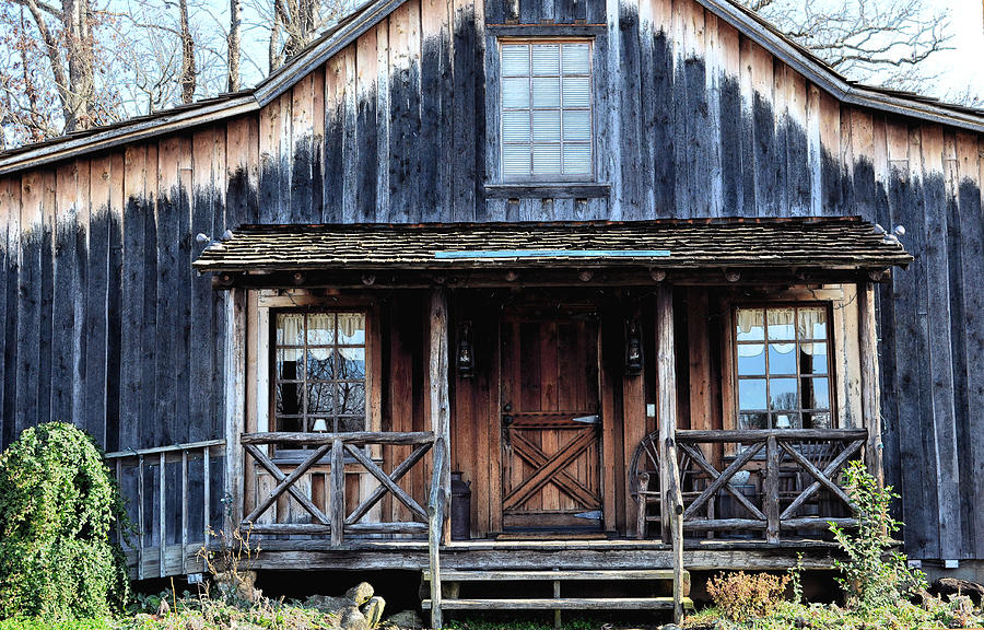 Log House Photograph - Old Log House2 by Sandi OReilly