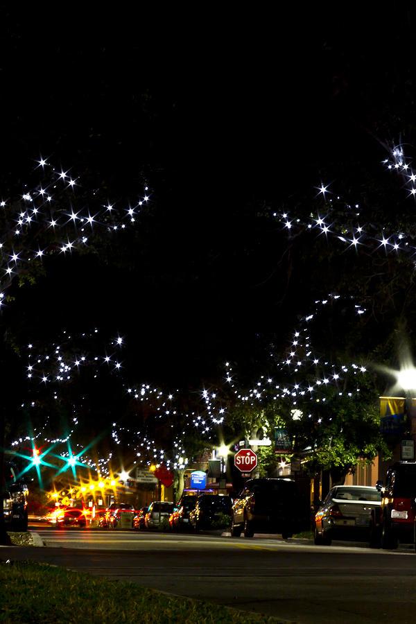 Bradenton Photograph - Old Main Street In December by Nicholas Evans