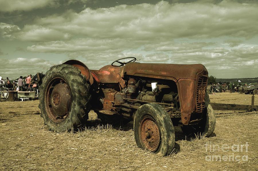 Massey Photograph - Old Massey by Rob Hawkins