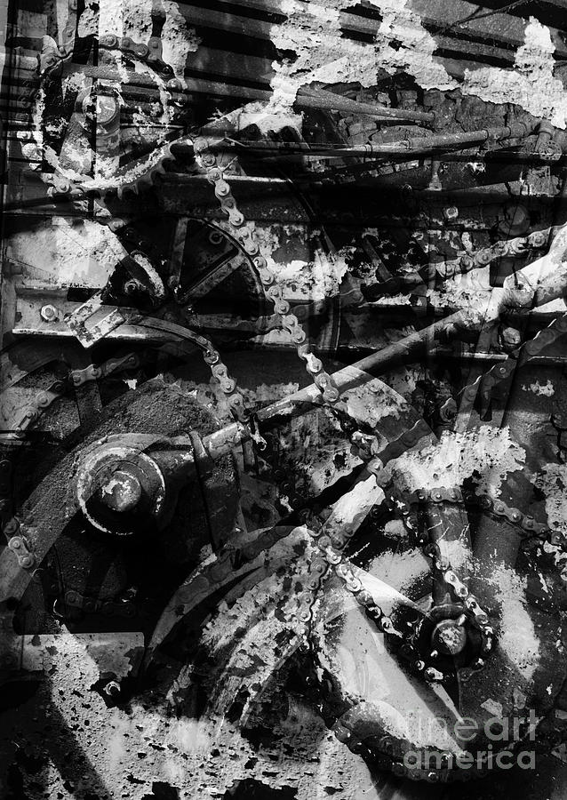 Abstract Photograph - Old Mechanism  by Igor Kislev