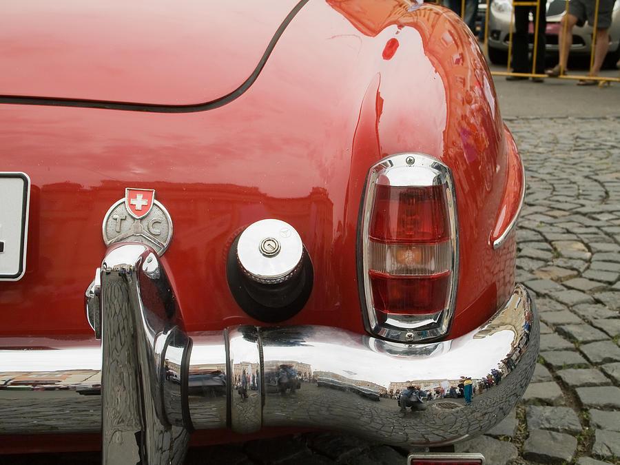 Jaguar Photograph - Old Mercede-benz Details by Odon Czintos