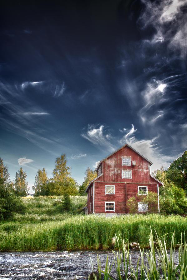 Matti Ollikainen Photograph - Old Mill by Matti Ollikainen