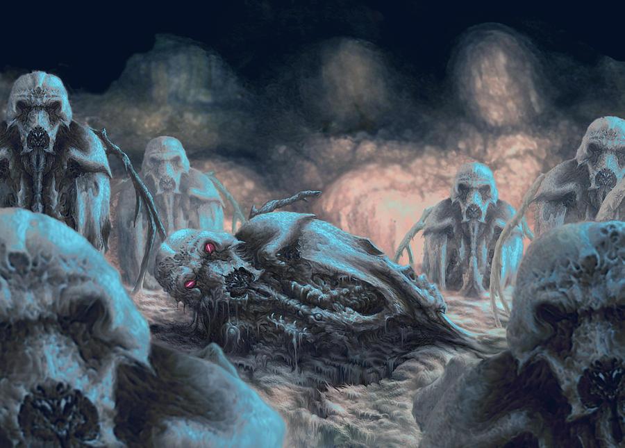 Alien Digital Art - Old Place by Tony Hough