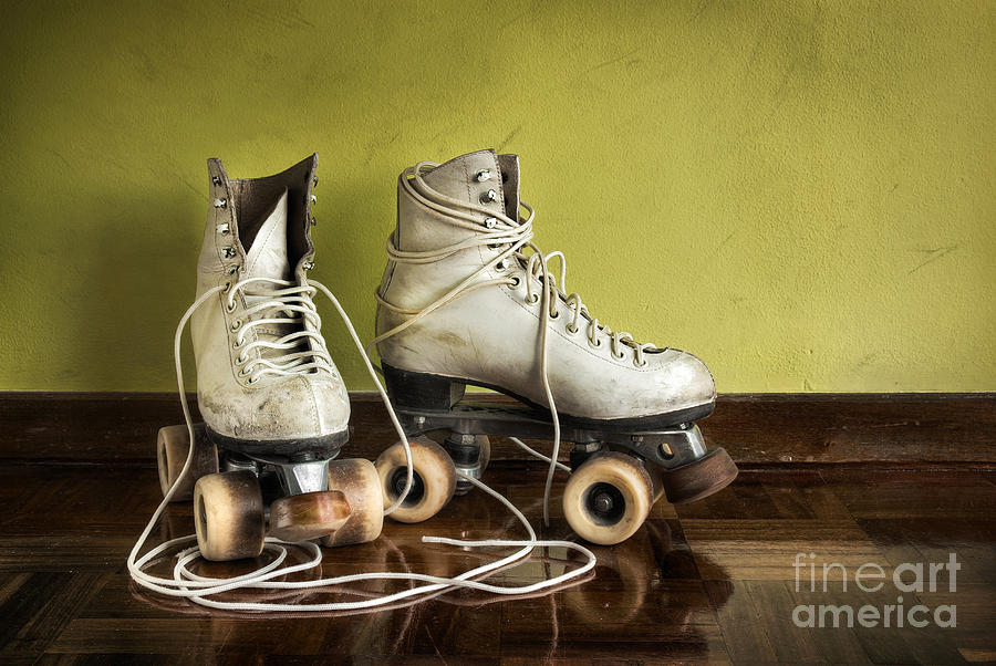 Active Photograph - Old Roller-skates by Carlos Caetano