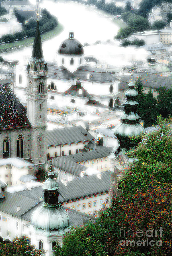 Salzburg Photograph - Old Salzburg by Mike Nellums