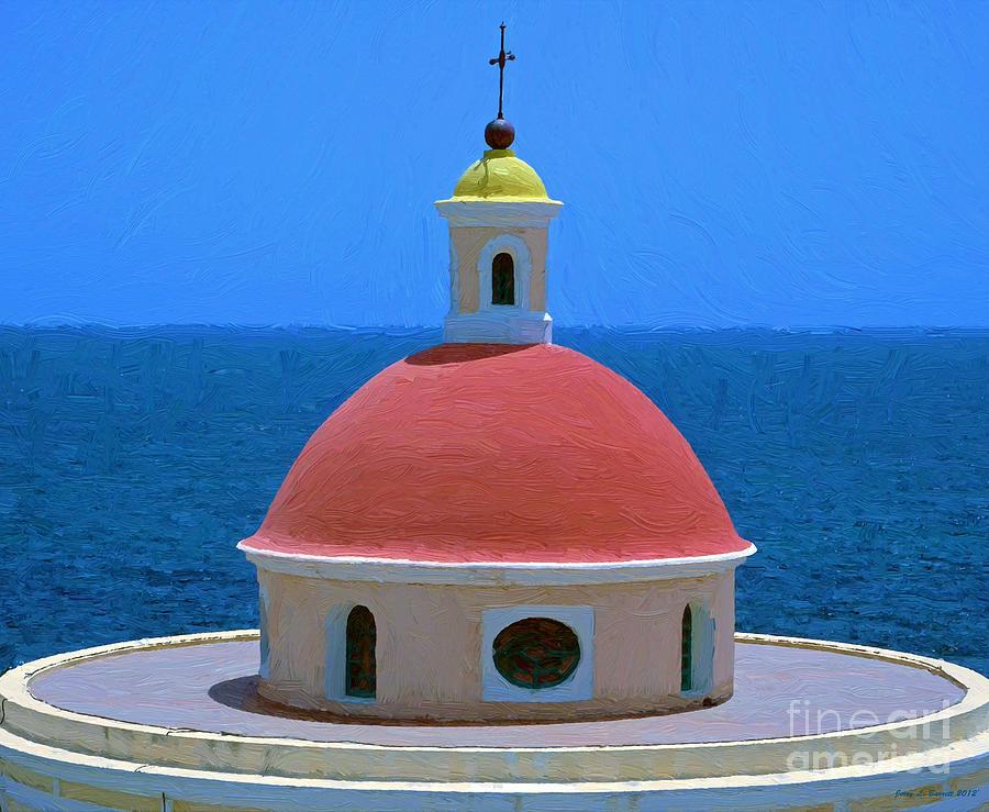 Old San Juan by Jerry L Barrett