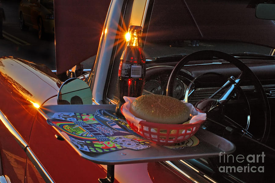 Chevy Photograph - Old School Date Night by Joann Vitali