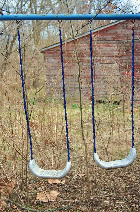Old Swing Set Photograph - Old Sdwing Set-3 by Todd Sherlock