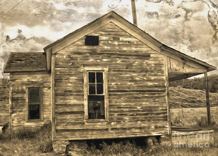 Old Shack Photograph - Old Shack by Gregory Dyer