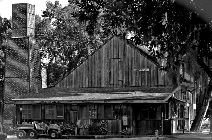 Deleon Springs Photograph - Old Spanish Sugar Mill by DigiArt Diaries by Vicky B Fuller