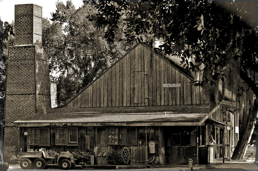 Sugar Mill Photograph - Old Spanish Sugar Mill Old Photo by DigiArt Diaries by Vicky B Fuller