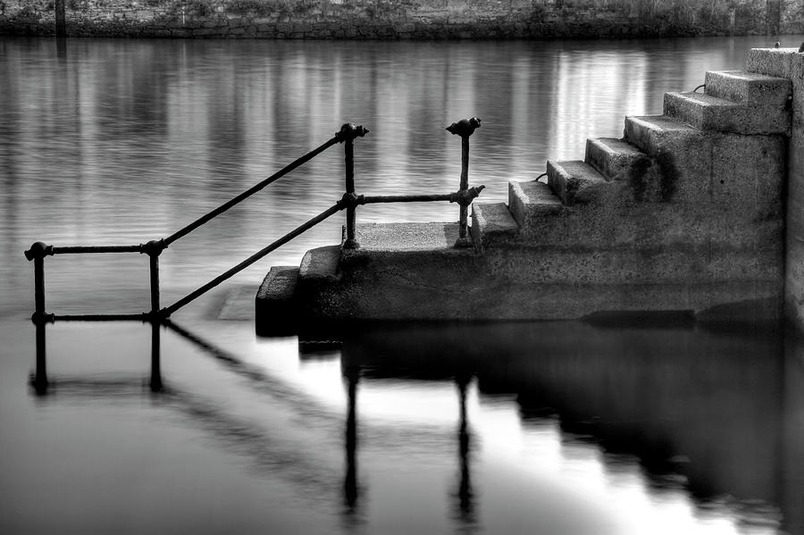 Horizontal Photograph - Old Stairway by Ander Aguirre photography