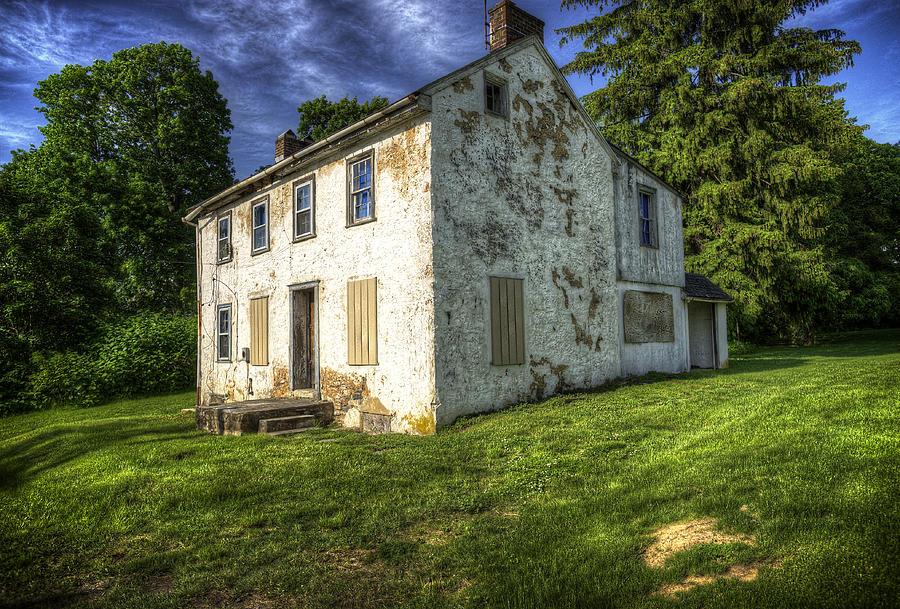 House Photograph - Old Tenants Quarters by Vicki Jauron
