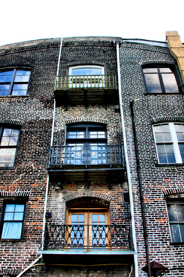 Building Photograph - Old Time Savannah by Kenneth Mucke