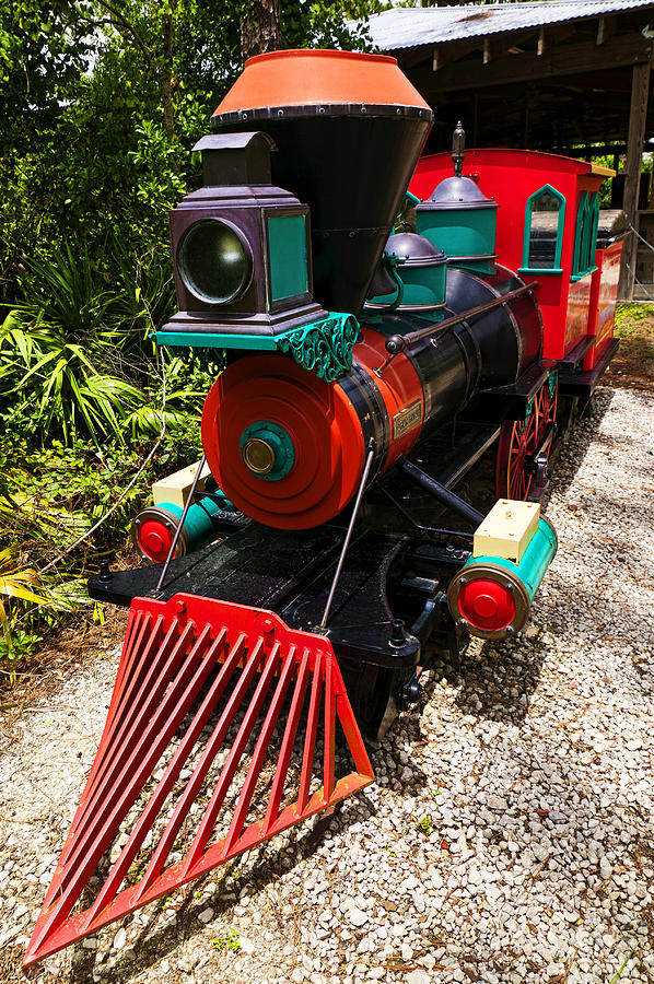 Train Photograph - Old Time Train by Garry Gay