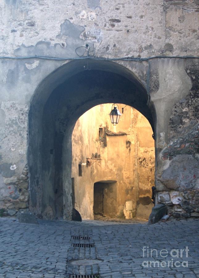 Sighisoara Photograph - Old town gate 1 by Amalia Suruceanu