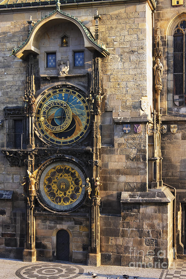 Architectural Detail Photograph - Old Town Hall Clock by Jeremy Woodhouse