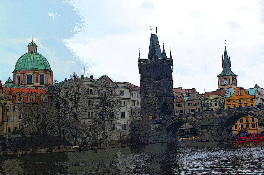 Old Town Prague Photograph by Paul Pobiak
