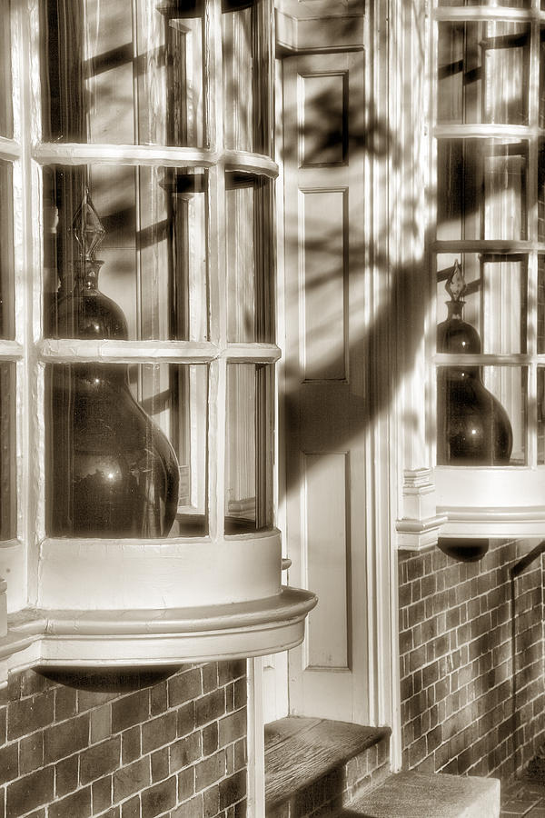 Architecture Photograph - Old Town Windows by Steven Ainsworth