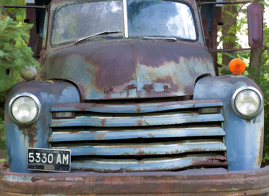 Old Truck Photograph - Old Truck I by John Crothers