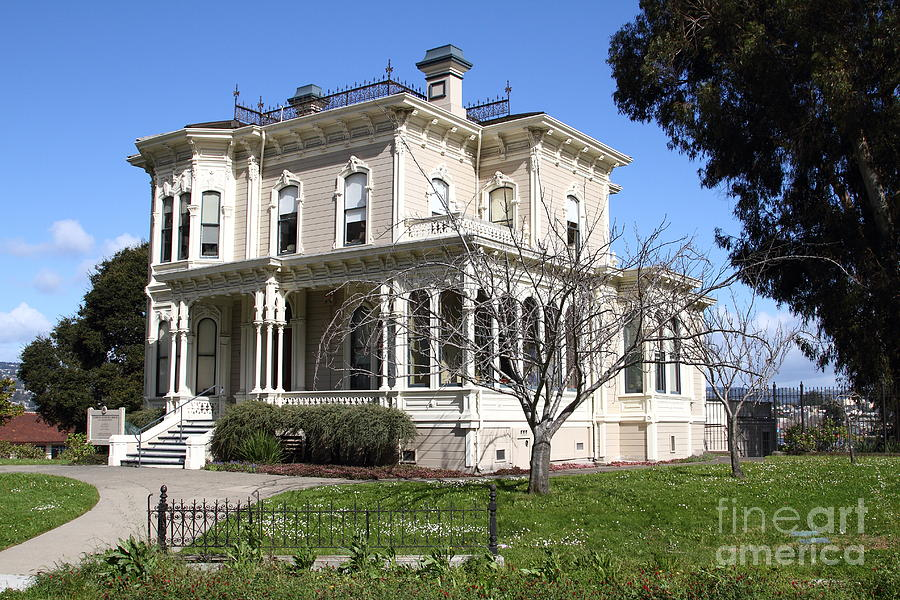 Bay Area Photograph - Old Victorian Camron-stanford House . Oakland California . 7d13445 by Wingsdomain Art and Photography