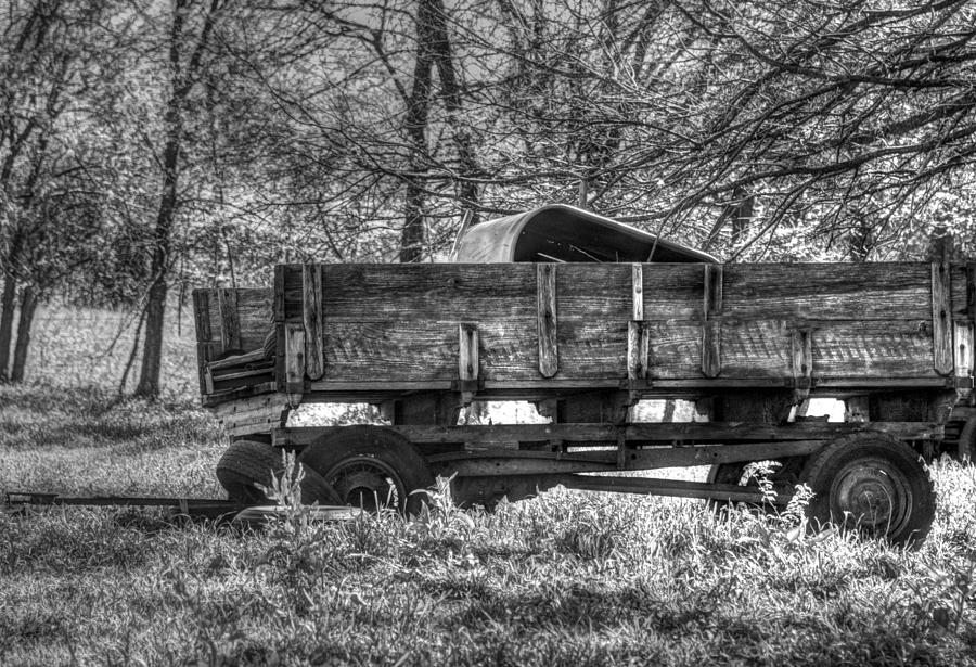 Wagons Photograph - Old Wagon by Lisa Moore