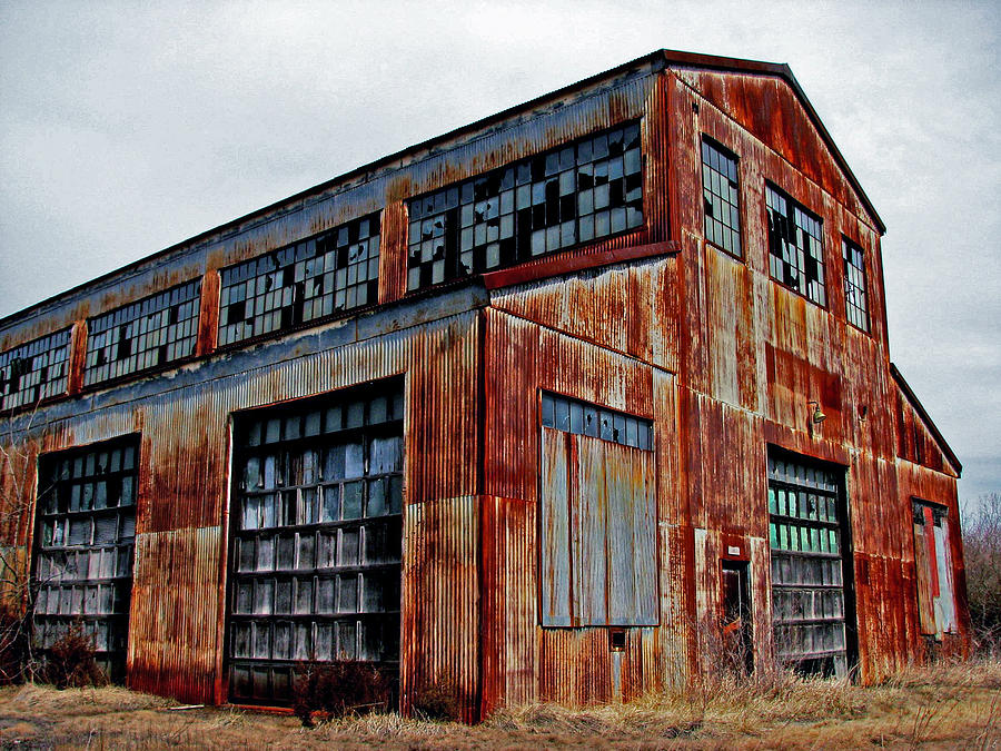 Old Warehouse Photograph By Off The Beaten Path