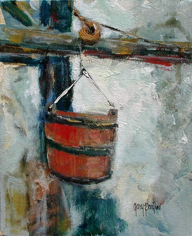 Old Well Bucket by Gary Partin