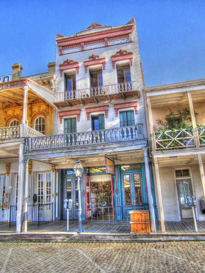 Old Town Sacramento Photograph - Old West Architecture by Barry Jones