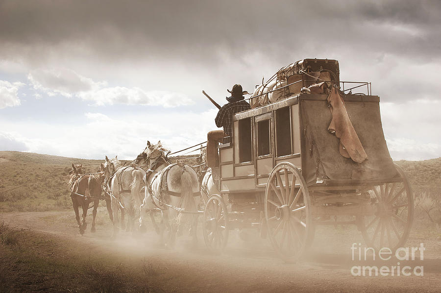 stagecoach prints - Bing Images | Western Art | Pinterest ...  |Large Western Stagecoach Art