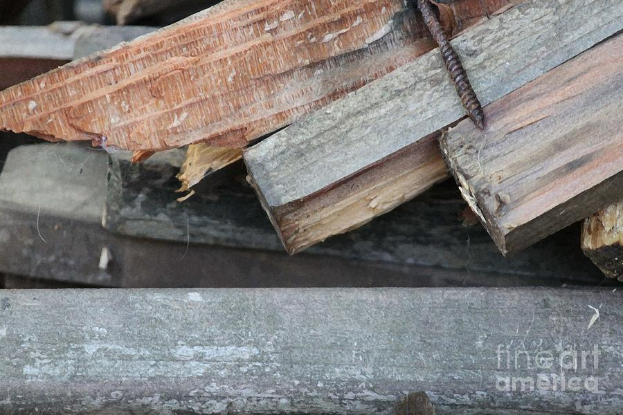 Wood Photograph - Old Wood by Marilyn West