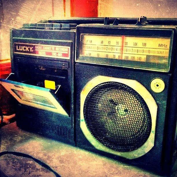 #oldschool #radio #music #village