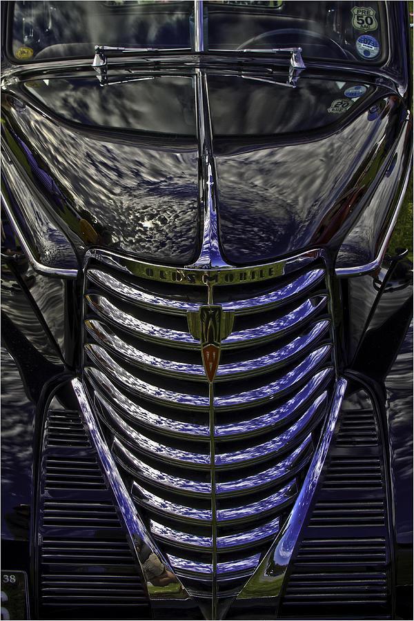 Oldsmobile Photograph - Oldsmobile Reflected by Nigel Jones