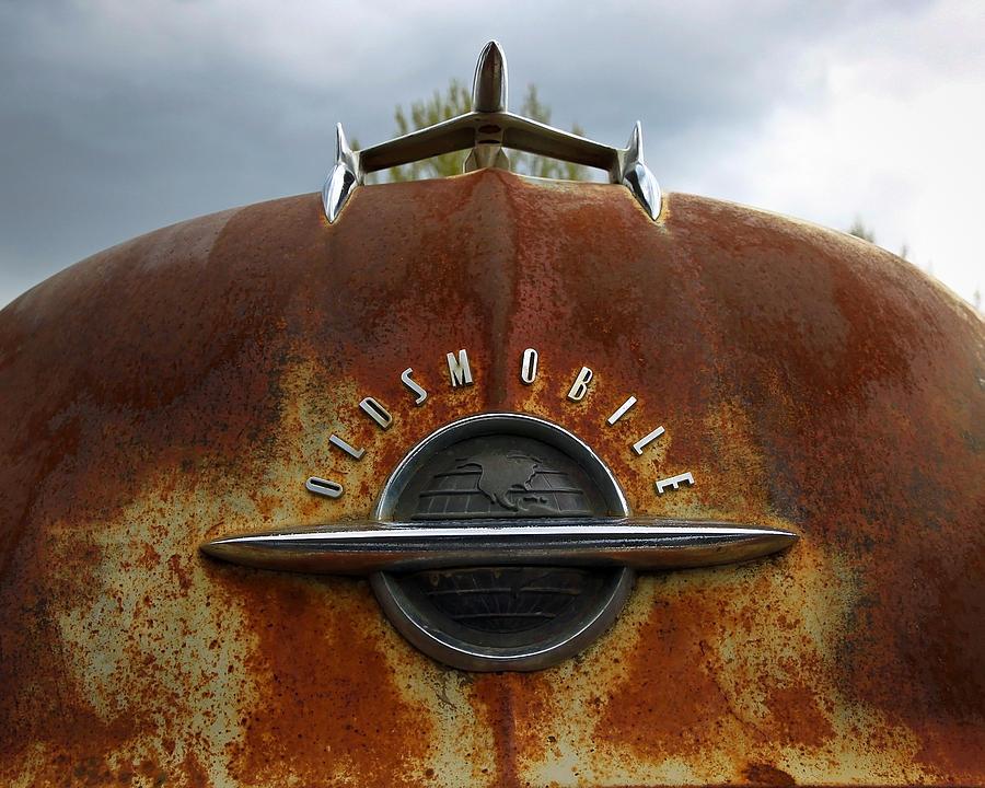 Pickup Photograph - Oldsmobile by Steve McKinzie