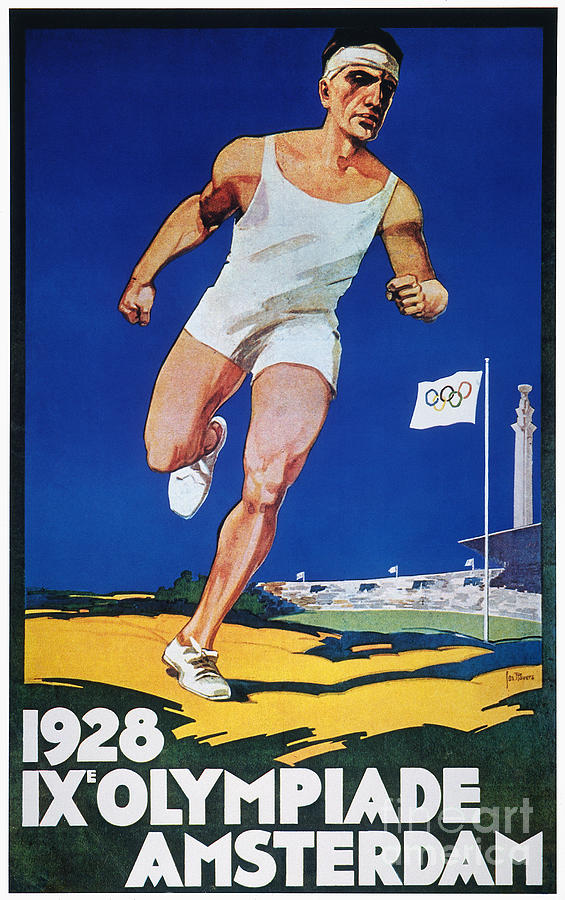 1928 Photograph - Olympic Games, 1928 by Granger