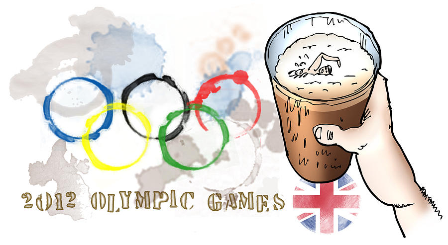 Olympics Digital Art - Olympic Rings by Mark Armstrong