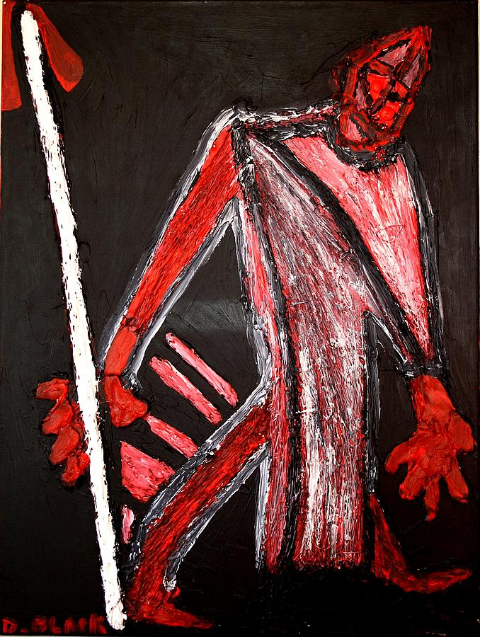 Drawing Mixed Media - Olympic Warrior by Darrell Black