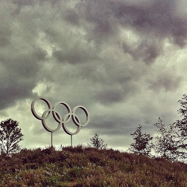 Clouds Photograph - #olympicpark #olympics #london2012 by Samuel Gunnell