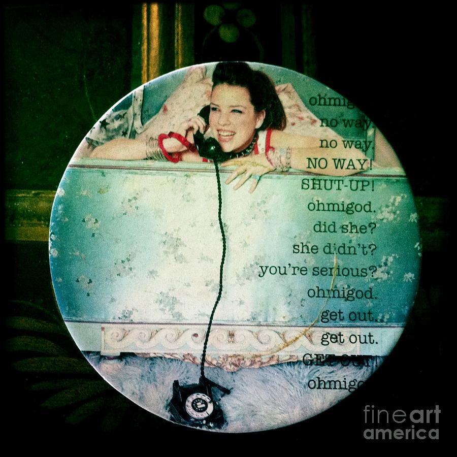 Omg Photograph - Omg No Way Shut Up by Nina Prommer